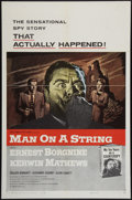 """Movie Posters:Drama, Man on a String & Other Lot (Columbia, 1960). One Sheets (2) (27"""" X 41""""). Drama.. ... (Total: 2 Items)"""