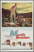 "Movie Posters:War, Merrill's Marauders and Other Lot (Warner Brothers, 1962). OneSheets (2) (27"" X 41""). War.. ... (Total: 2 Items)"