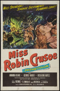 "Movie Posters:Adventure, Miss Robin Crusoe and Other Lot (20th Century Fox, 1953). OneSheets (3) X 41""). Adventure.. ... (Total: 3 Items)"