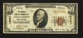 National Bank Notes:West Virginia, Williamson, WV - $10 1929 Ty. 1 The NB of Commerce Ch. # 10067. ...