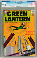 Silver Age (1956-1969):Superhero, Green Lantern #21 Twin Cities pedigree (DC, 1963) CGC NM/MT 9.8White pages....