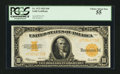 Large Size:Gold Certificates, Fr. 1173 $10 1922 Gold Certificate PCGS Choice About New 55.. ...