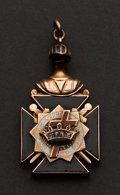 Estate Jewelry:Other , Knights Templar Gold Fob. ...
