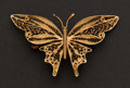 Estate Jewelry:Brooches - Pins, Gold Butterfly Pin. ...