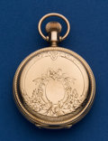 Timepieces:Pocket (post 1900), Illinois Unmarked 10k Gold 8 Size Pocket Watch. ...