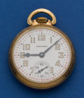 Timepieces:Pocket (post 1900), Waltham 16 Size 21 Jewel Riverside Pocket Watch. ...