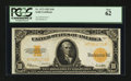 Large Size:Gold Certificates, Fr. 1173 $10 1922 Gold Certificate PCGS New 62.. ...
