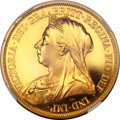 Great Britain, Great Britain: Victoria gold Proof £5 1893,...