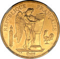 France: Republic gold 100 Francs 1889A