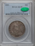 Seated Half Dollars: , 1883 50C XF45 PCGS. CAC. PCGS Population (8/103). NGC Census:(1/62). Mintage: 8,000. Numismedia Wsl. Price for problem fre...