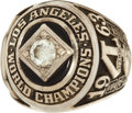 """Baseball Collectibles:Others, 1963 Los Angeles Dodgers World Championship Ring Presented to Bill """"Moose"""" Skowron...."""