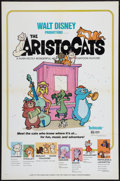 "Movie Posters:Animated, The Aristocats (Buena Vista, 1970). One Sheet (27"" X 41""), LobbyCard Set of 9 (11"" X 14""), and Pressbook (16 pages, 11' X 1...(Total: 11 Items)"