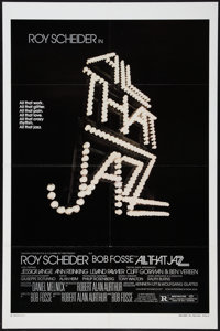 """All That Jazz (20th Century Fox, 1979). One Sheet (27"""" X 41"""") Style A, Lobby Card Set of 8 (11"""" X 14""""..."""
