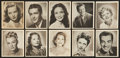 Non-Sport Cards:Singles (Pre-1950), 1948 Bowman Movie Stars Near Set (34/36). ...