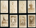 Boxing Cards:General, 1949 Topps Magic Photos Series A Boxing Near Set (21/24). ...