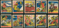 "Non-Sport Cards:Lots, 1948 Leaf ""Pirates Gum"" Collection (33). ..."