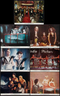 "Movie Posters:Rock and Roll, The Rocky Horror Picture Show (20th Century Fox, 1975). Lobby Cards(7) (11"" X 14""), Uncut Pressbook (15 Pages, 8.5"" X 14""),... (Total:9 Items)"