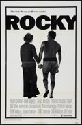 "Movie Posters:Academy Award Winners, Rocky (United Artists, 1977). One Sheet (27"" X 41"") and Program (4Pages, 9"" X 12""). Academy Award Winners.. ..."