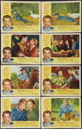 """Movie Posters:Drama, Friendly Persuasion (Allied Artists, 1956). Lobby Card Set of 8 (11"""" X 14""""). Drama.. ... (Total: 8 Items)"""