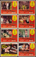 """Movie Posters:Musical, The Merry Widow (MGM, 1952). Lobby Card Set of 8 (11"""" X 14""""). Musical.. ... (Total: 8 Items)"""