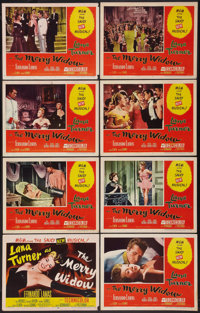 """The Merry Widow (MGM, 1952). Lobby Card Set of 8 (11"""" X 14""""). Musical. ... (Total: 8 Items)"""