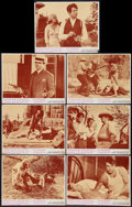 "Movie Posters:Crime, Bonnie and Clyde (Warner Brothers-Seven Arts, 1967). Lobby Cards(7) (11"" X 14""). Crime.. ..."