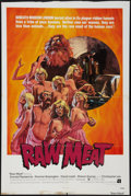 """Movie Posters:Horror, Raw Meat (American International, 1973). One Sheet (27"""" X 40""""). Horror.. ..."""