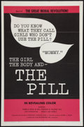 "Movie Posters:Exploitation, The Girl, the Body, and the Pill (Creative Film Enterprises, 1967).One Sheet (27"" X 41""). Exploitation.. ..."