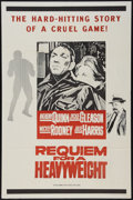 "Movie Posters:Sports, Requiem for a Heavyweight (Columbia, 1962). Military Style One Sheet (27"" X 41""). Sports.. ..."