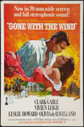 "Movie Posters:Academy Award Winners, Gone with the Wind (MGM, R-1967). One Sheet (27"" X 41""). AcademyAward Winners.. ..."
