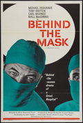 "Movie Posters:Drama, Behind the Mask (Lion International, 1958). British One Sheet (27"" X 40""). Drama.. ..."
