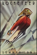 "Movie Posters:Action, The Rocketeer (Walt Disney Pictures, 1991). One Sheet (27"" X 40"")DS Advance. Action.. ..."