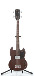 Musical Instruments:Electric Guitars, 1975 Gibson EB-0 Refinished Electric Bass Guitar #891773...