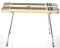 Musical Instruments:Lap Steel Guitars, 1950's Fender StringMaster Double 8 Blonde Lap Steel Guitar#3385...