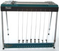 Musical Instruments:Lap Steel Guitars, 1960's Fender 1000 Lake Placid Blue Pedal Steel Guitar #01040...