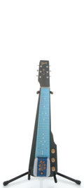 Musical Instruments:Lap Steel Guitars, 1950's Gibson Century Royal Blue Lap Steel Guitar ...