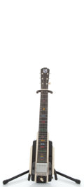 Musical Instruments:Lap Steel Guitars, 1949 National New Yorker Tuxedo Lap Steel Guitar #320344...