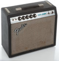 Musical Instruments:Amplifiers, PA, & Effects, 1970's Fender Vibro Champ Silverface Guitar Amplifier #A 753761...