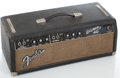 Musical Instruments:Amplifiers, PA, & Effects, 1966 Fender Bassman Blackface Guitar Amplifier #A08535...
