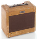 Musical Instruments:Amplifiers, PA, & Effects, 1954 Fender Tweed Priceton Tweed Guitar Amplifier #DA 3674...