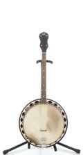 Musical Instruments:Banjos, Mandolins, & Ukes, 1926 The Gibson TB Maple Tenor Banjo #8524-81...