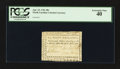 Colonial Notes:North Carolina, North Carolina April 23, 1761 40s PCGS Extremely Fine 40.. ...