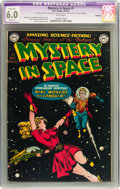 Golden Age (1938-1955):Science Fiction, Mystery in Space #1 (DC, 1951) CGC Apparent FN 6.0 Slight (A) Whitepages....