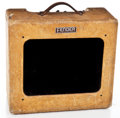 Musical Instruments:Amplifiers, PA, & Effects, 1950 Fender Deluxe Guitar Amplifier, #1083....