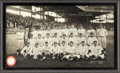 Autographs:Others, 1925 Washington Senators Team Signed Panoramic Photograph....