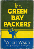 Football Collectibles:Others, 1940's Green Bay Packers Multi-Signed Book with Lambeau, Kiesling,Calhoun....