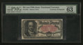 Fractional Currency:Fifth Issue, Courtesy Autograph of John New Fr. 1381 50¢ Fifth Issue PMG ChoiceUncirculated 63.. ...