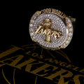Basketball Collectibles:Others, 2009 Los Angeles Lakers NBA Championship Ring with High-TechOriginal Display Case....