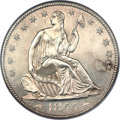 Proof Seated Half Dollars, 1855-S 50C Arrows PR65 NGC. WB-1....