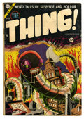 Golden Age (1938-1955):Horror, The Thing! #15 (Charlton, 1954) Condition: VG+....
